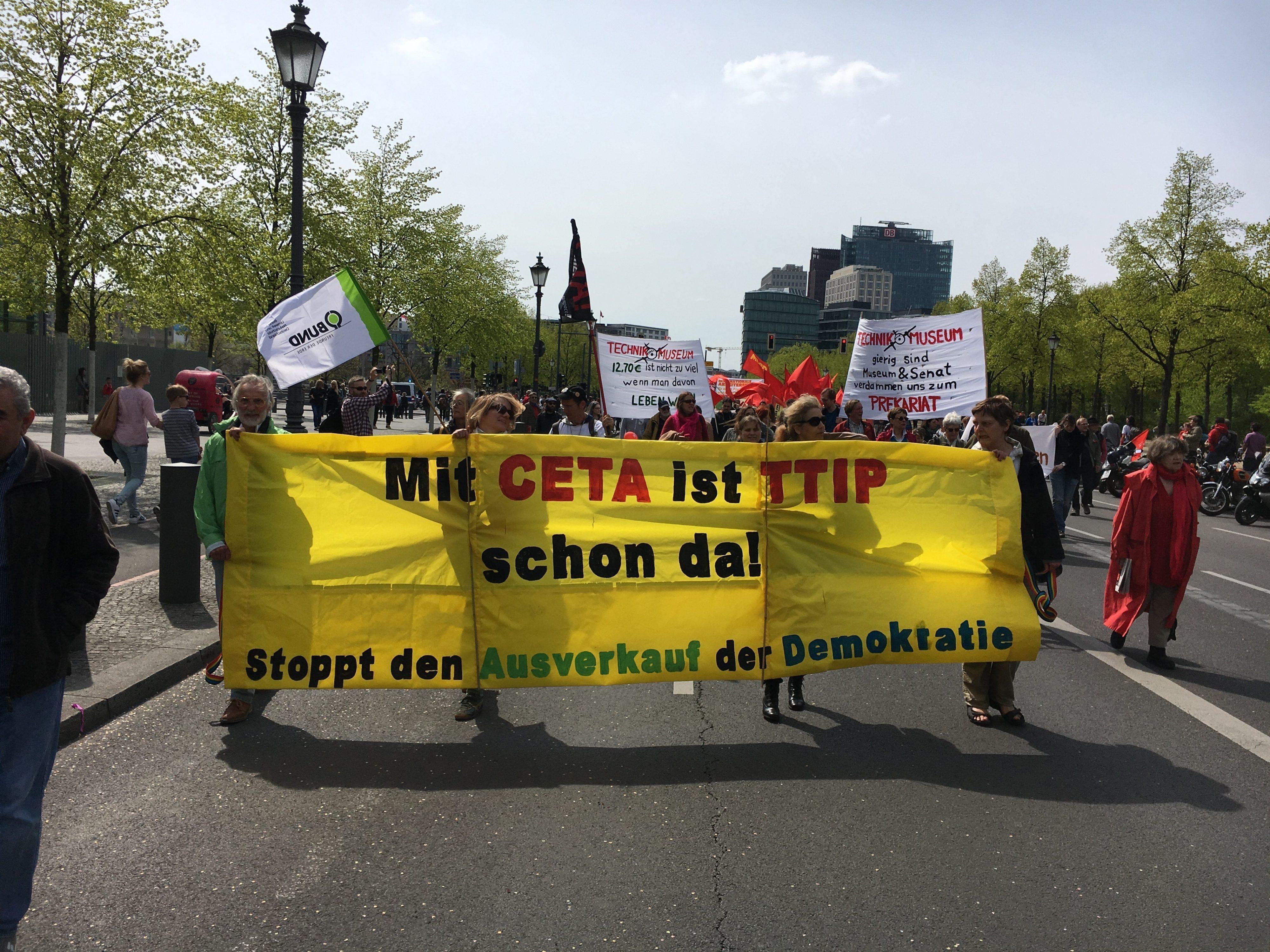 Mit CETA ist TTIP schon da!
